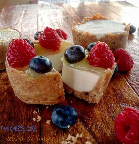 Mini cheese cake delizia al limone