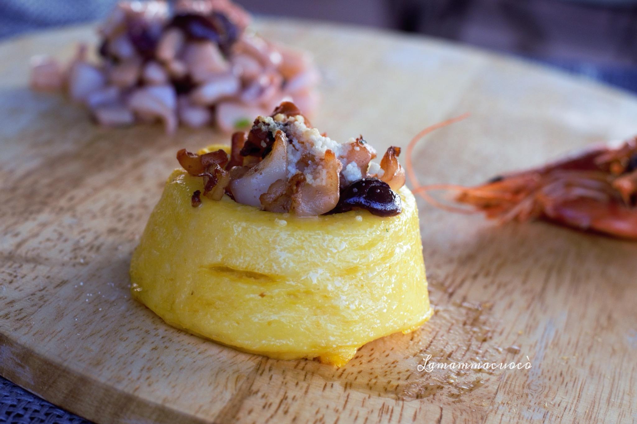 Come realizzare dei cestini di polenta la mamma cuoc for Cucinare diaframma