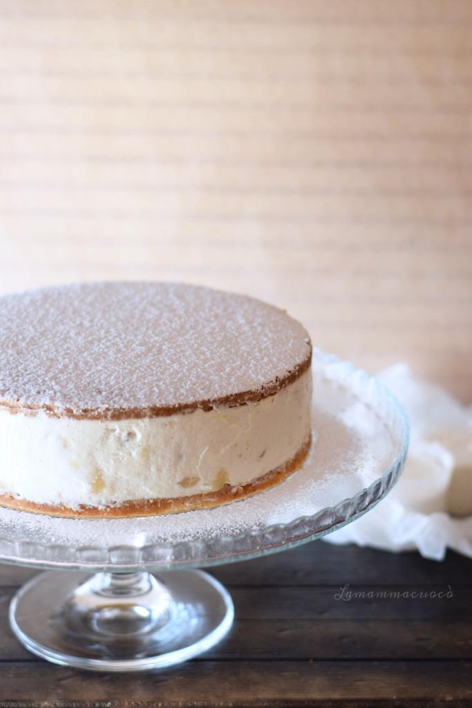 torta ricotta e pere di De Riso