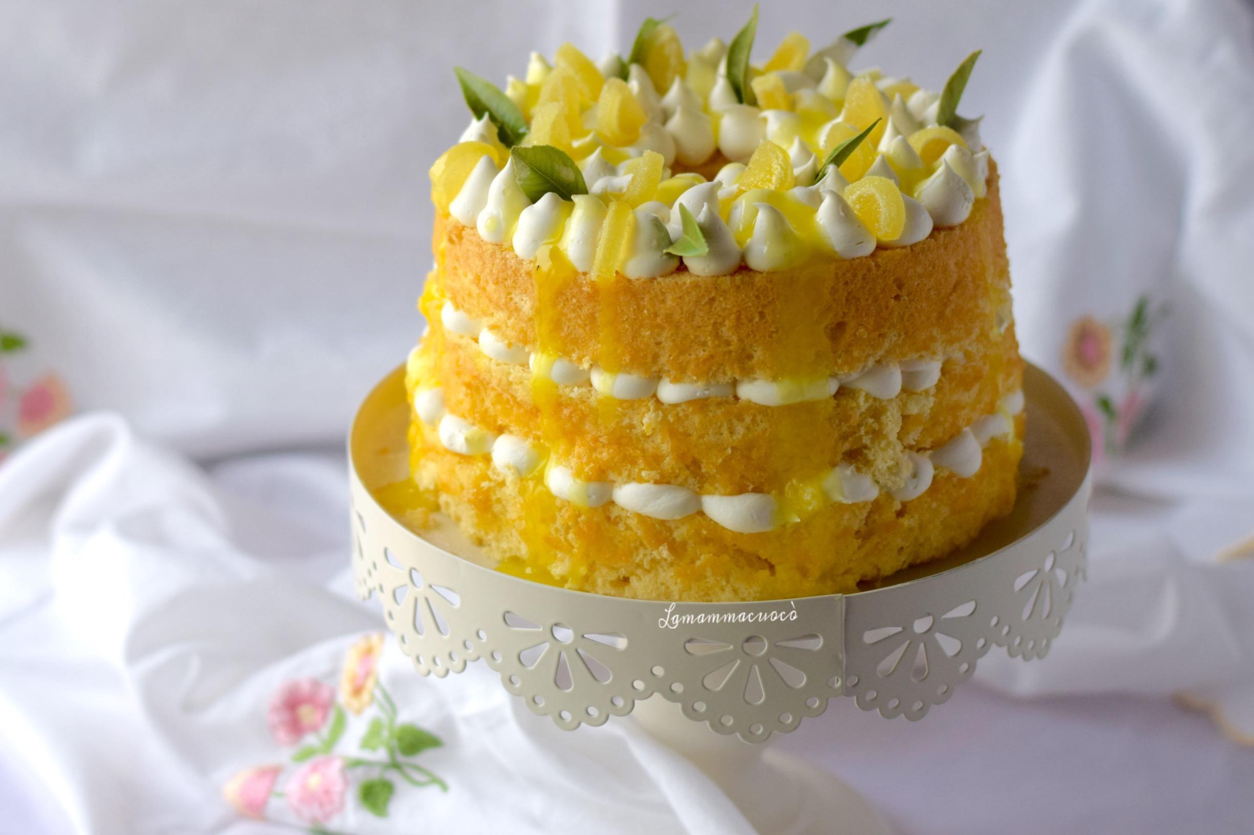 Fluffosa al limoncello – chiffon cake delizia