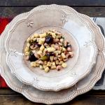 Gnocchi di semola rimacinata – con seppie scarole pinoli e olive nere