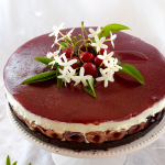 Cheese Cake allo yogurt e ciliegie – con topping alla ciliegia