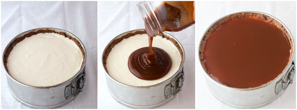 Tutorial Ricetta Cheesecake alla vaniglia, salsa mou e pop corn caramellati senza cottura