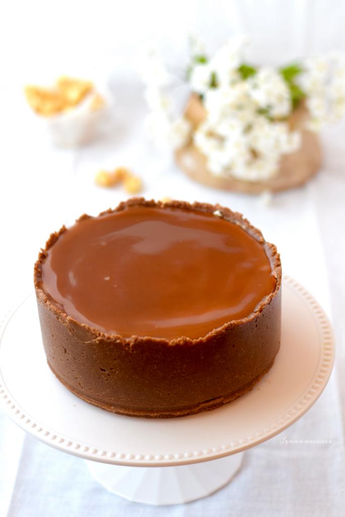 Ricetta Cheesecake alla vaniglia, salsa mou e pop corn caramellati senza cottura