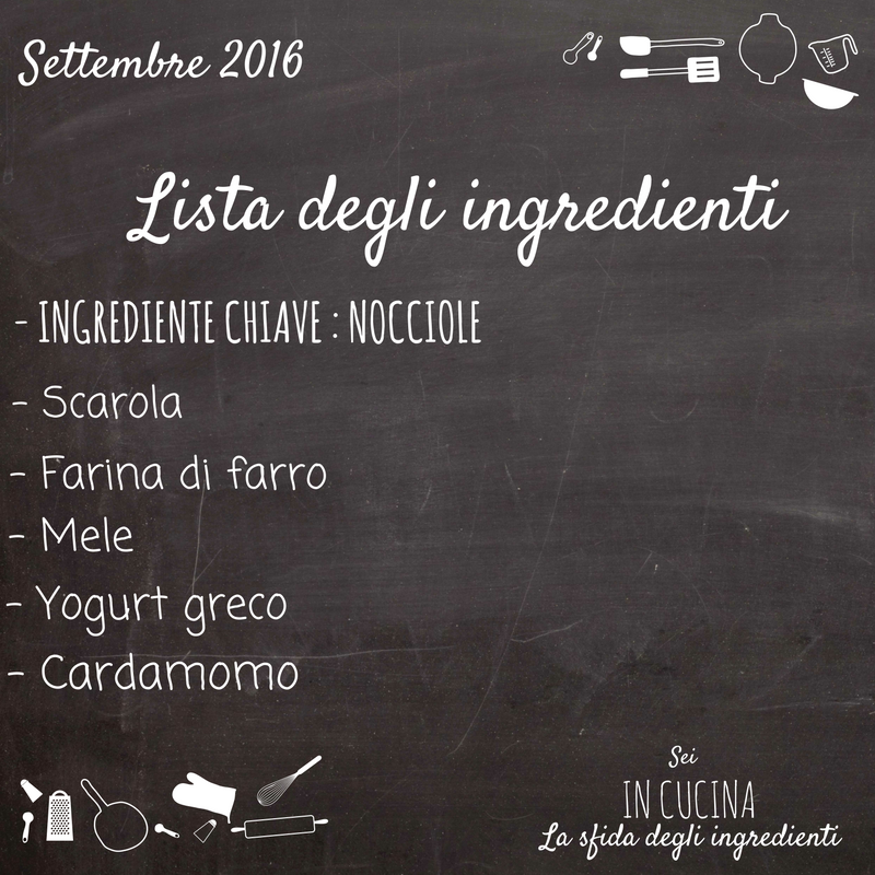 lista ingredienti del gioco sei in cucina
