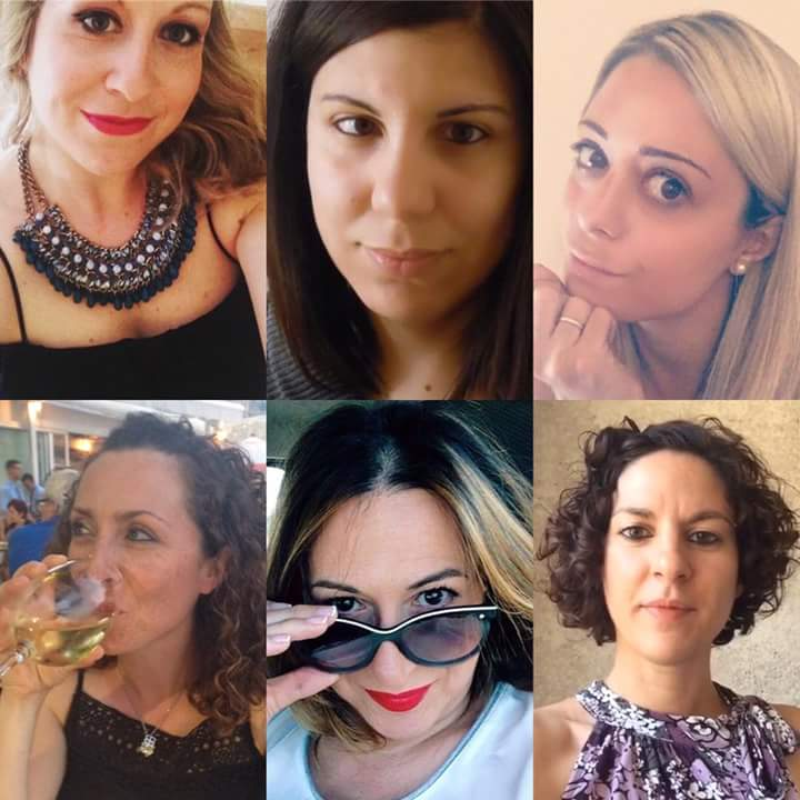 collage blogger sei in cucina
