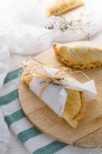 Pasties con castagne, zucca e porri