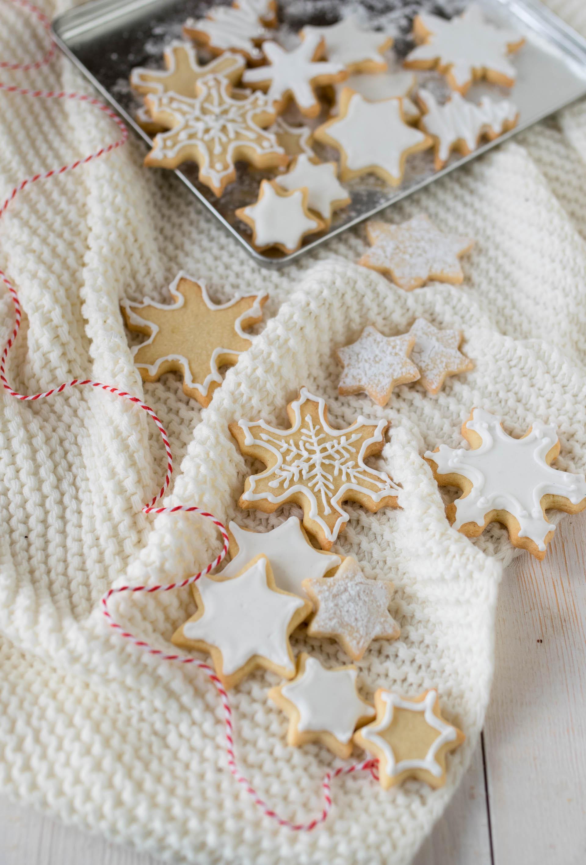 Biscotti Di Natale 1 Uovo.Biscotti Di Natale Glassati