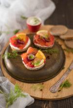 Gravlax, salmone svedese marinato agli agrumi